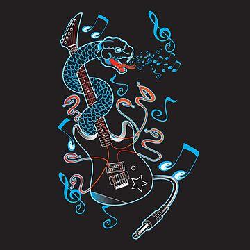 6 Strings of Venom! by DPITT72