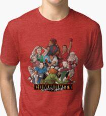 Camiseta de tejido mixto Calles por delante