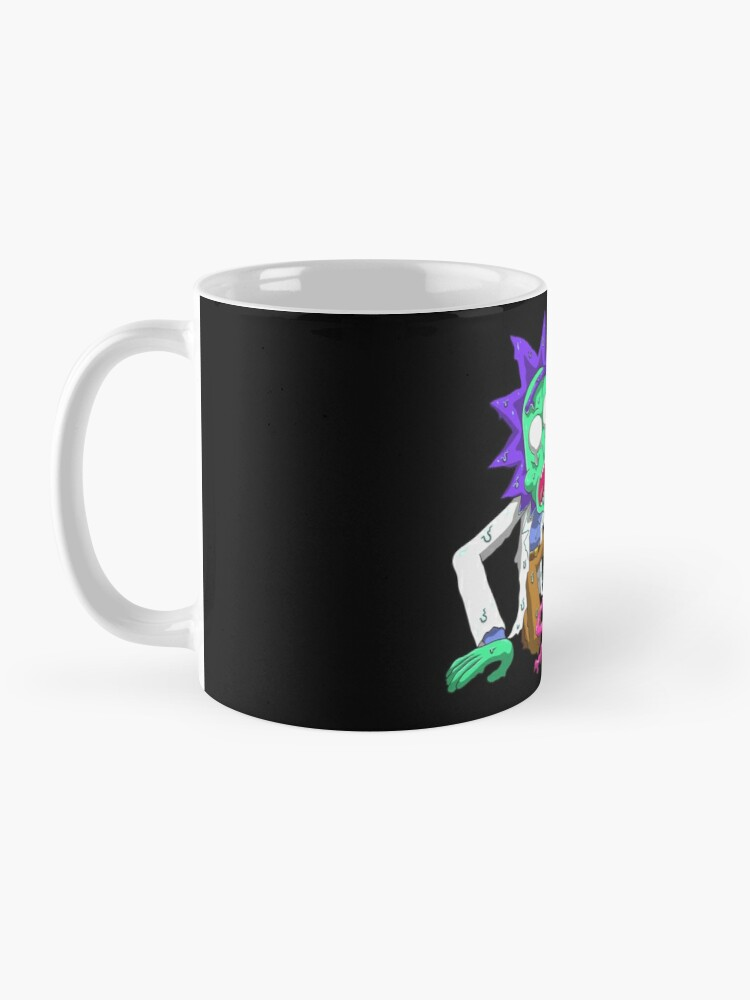 Alternate view of rick and morty get schwifty Mug