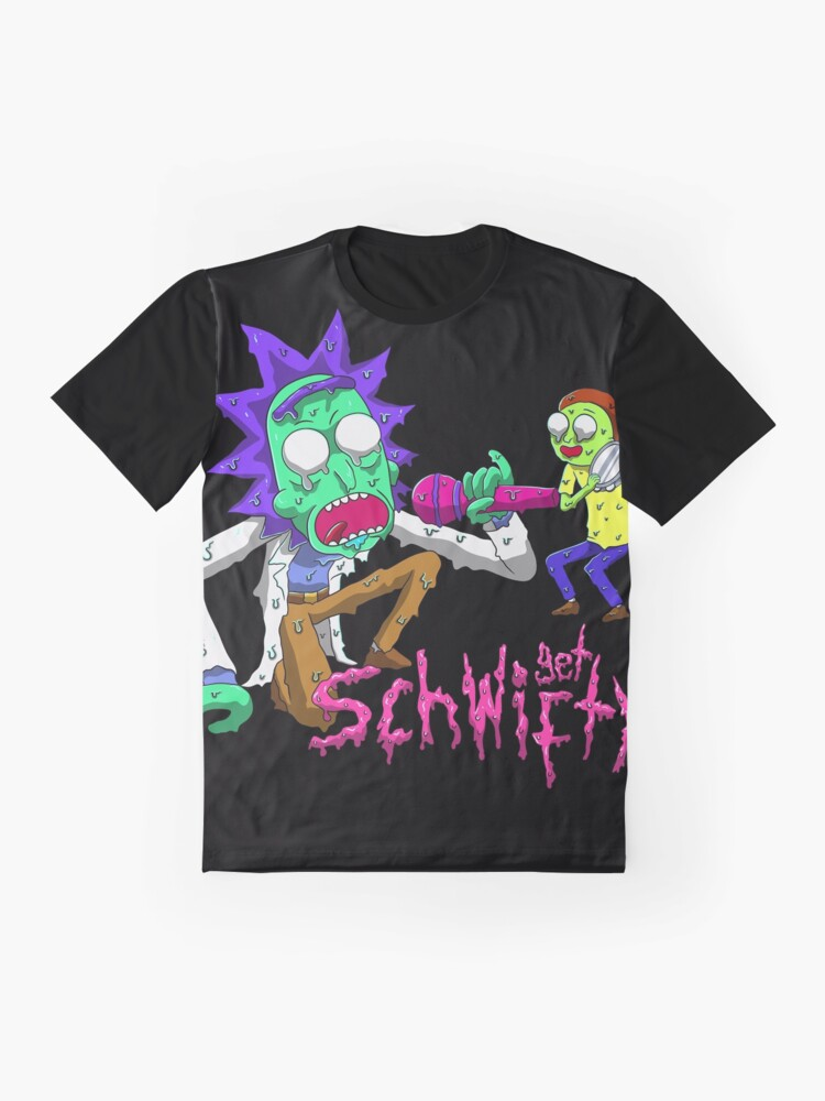 Alternate view of rick and morty get schwifty Graphic T-Shirt
