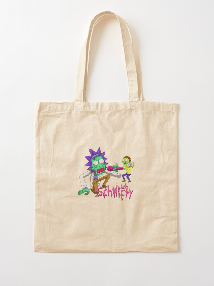 Alternate view of rick and morty get schwifty Tote Bag