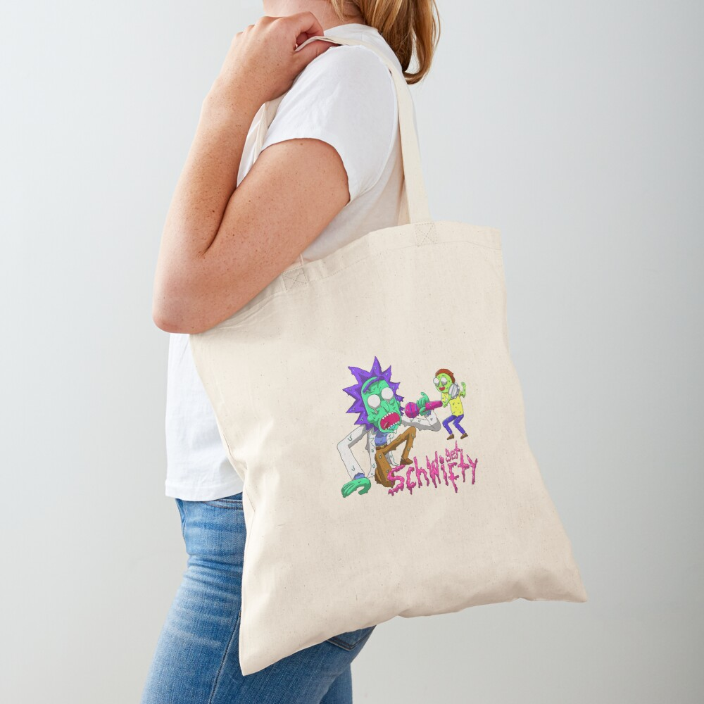 rick and morty get schwifty Tote Bag