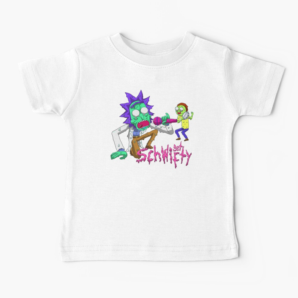 rick and morty get schwifty Baby T-Shirt