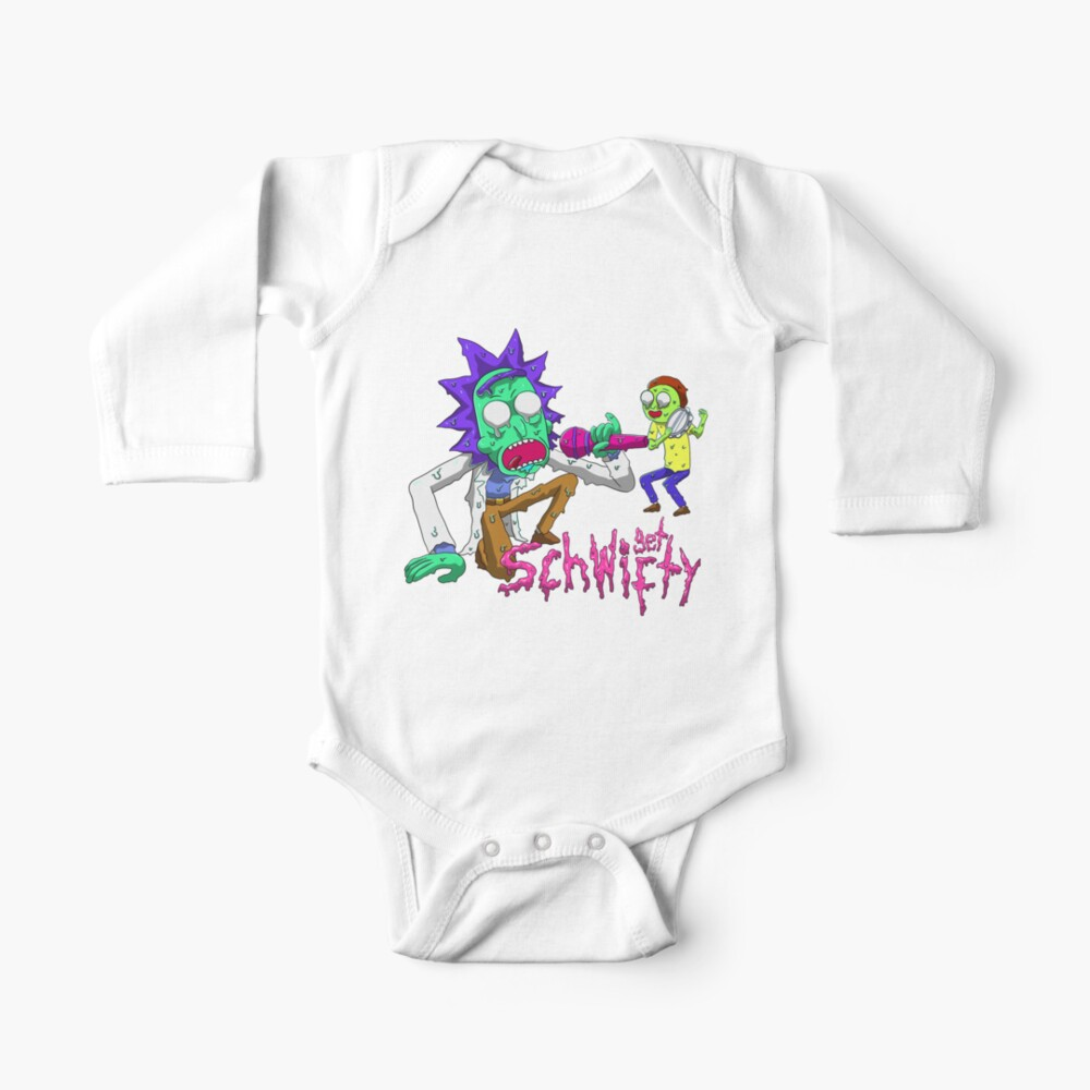 rick and morty get schwifty Baby One-Piece