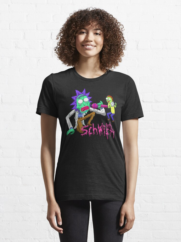 Alternate view of rick and morty get schwifty Essential T-Shirt