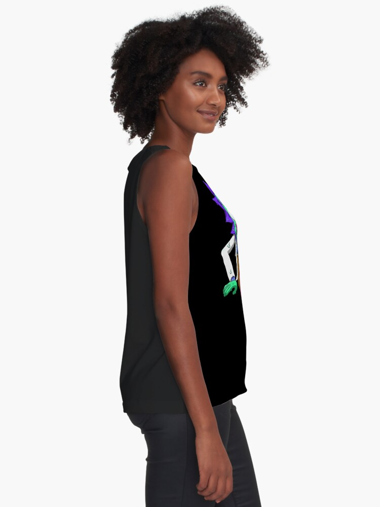 Alternate view of rick and morty get schwifty Sleeveless Top