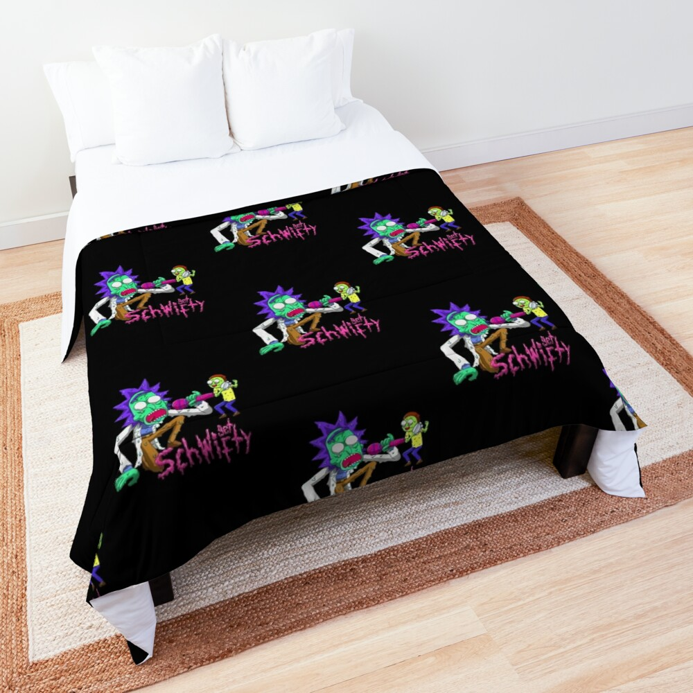 rick and morty get schwifty Comforter