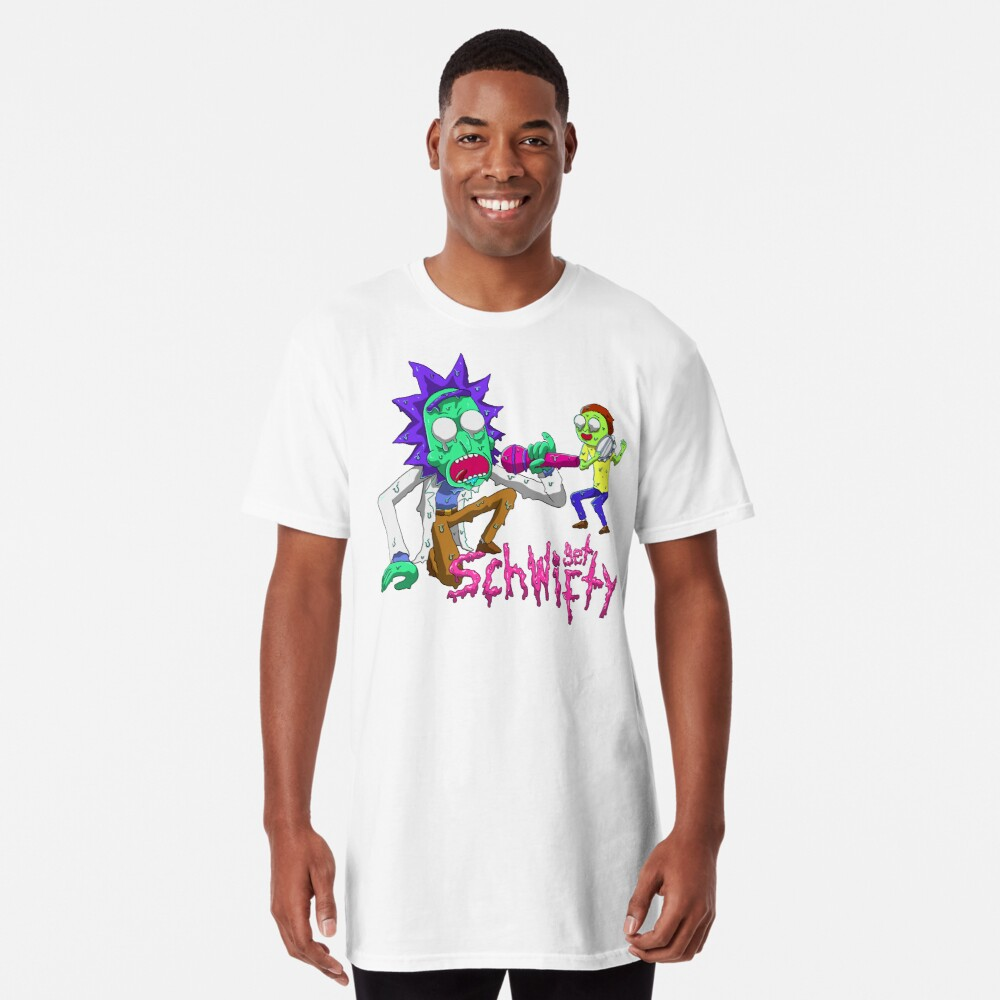 rick and morty get schwifty Long T-Shirt
