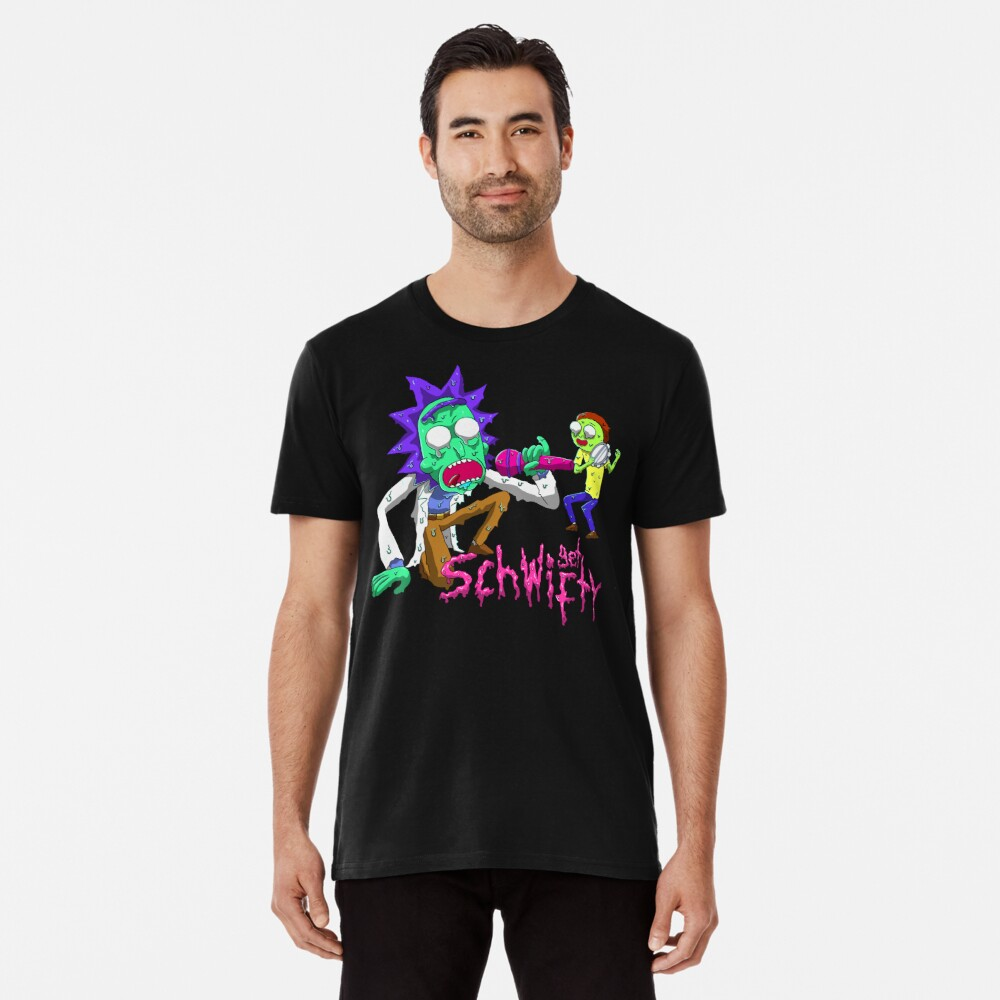rick and morty get schwifty Premium T-Shirt