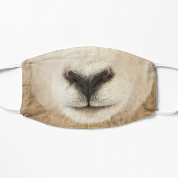 Sheeple White Sheep Mask