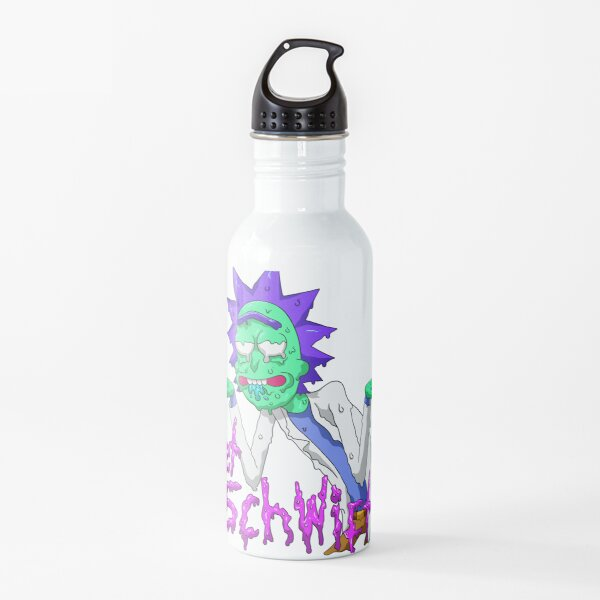 rick and morty get schwifty Water Bottle