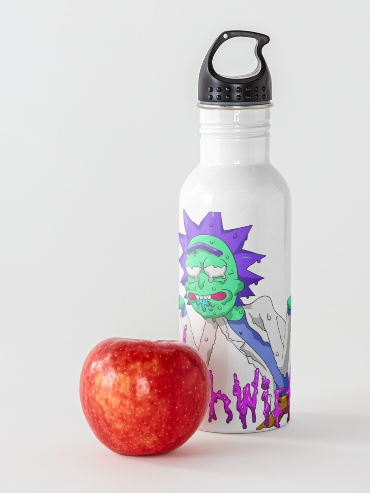 Alternate view of rick and morty get schwifty Water Bottle