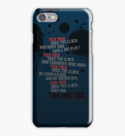 Tick Tock iPhone Case/Skin