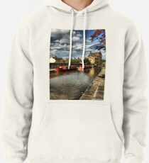 Canal Barges Pullover Hoodie