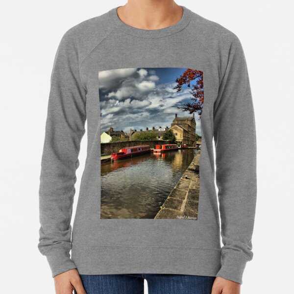 Canal Barges Lightweight Sweatshirt
