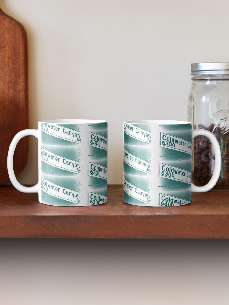 Alternate view of Coldwater Canyon Avenue, SFV, Los Angeles WATERY by Mistah Wilson Mug
