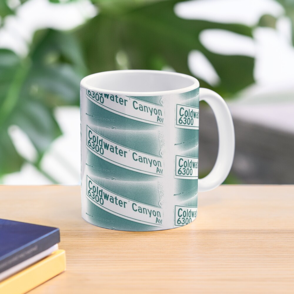Coldwater Canyon Avenue, SFV, Los Angeles WATERY by Mistah Wilson Mug
