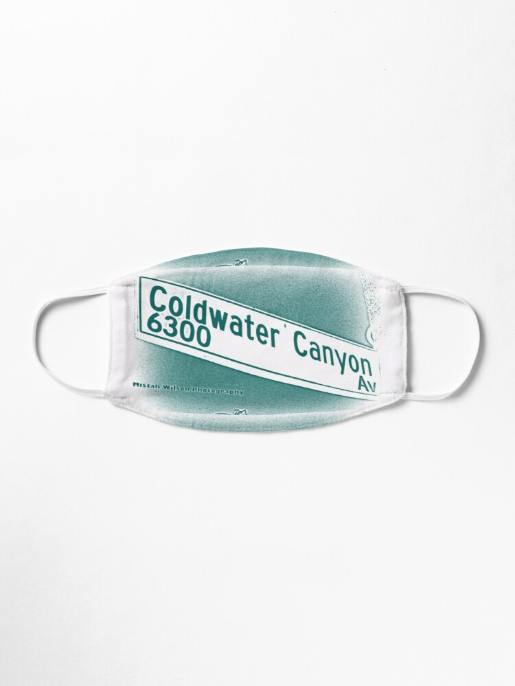 Alternate view of Coldwater Canyon Avenue, SFV, Los Angeles WATERY by Mistah Wilson Mask