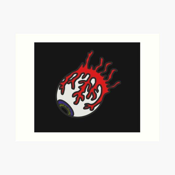 Terraria Eye of Cthulhu Art Print
