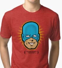 Captain RibMan - Face Tri-blend T-Shirt