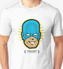 Captain RibMan - Face T-Shirt