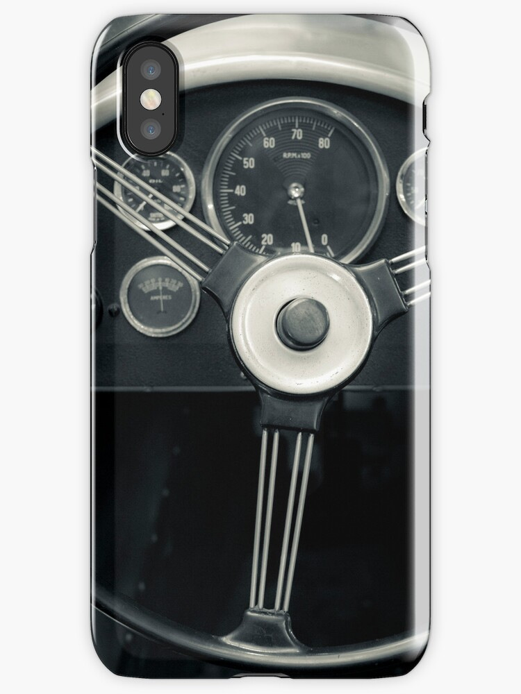 Retro car dashboard for your iPhone by Martyn Franklin