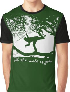 Tom Waits - All the World is Green Graphic T-Shirt