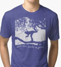Tom Waits - All the World is Green Tri-blend T-Shirt