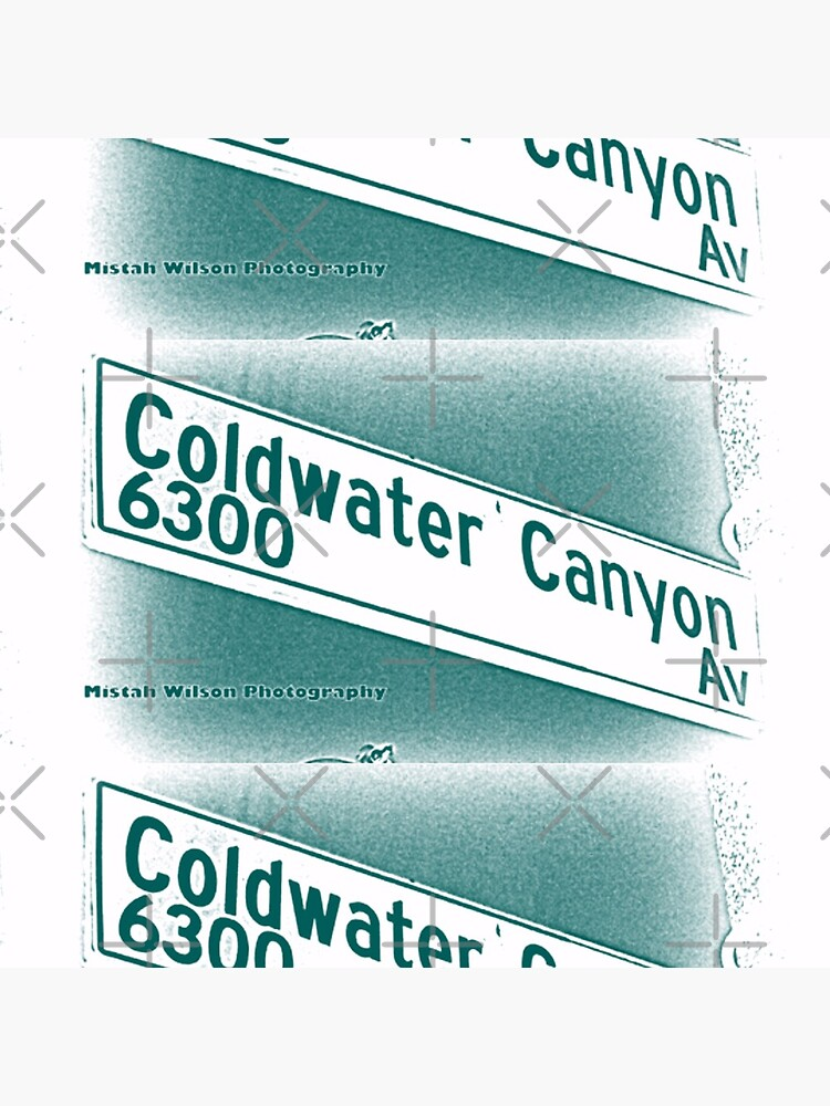Coldwater Canyon Avenue, SFV, Los Angeles WATERY by Mistah Wilson by MistahWilson