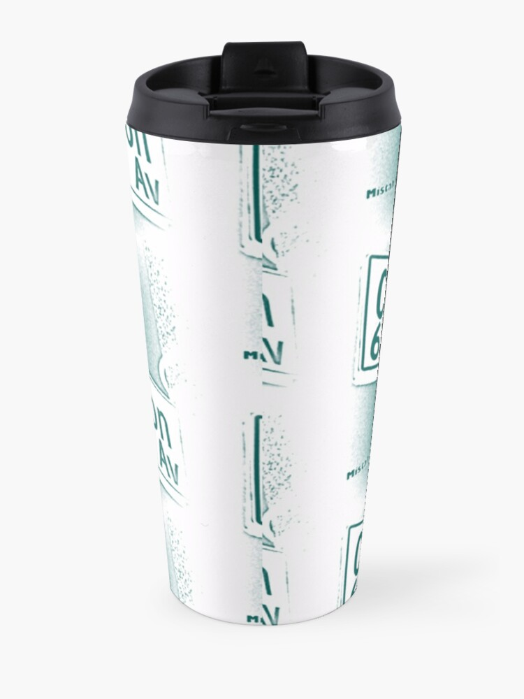 Alternate view of Coldwater Canyon Avenue, SFV, Los Angeles WATERY by Mistah Wilson Travel Mug