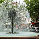Fountain In Kings Cross by Eve Parry