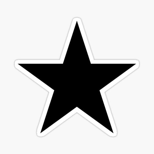 BLACK Star, Dark Star, Black Hole, Stellar, Achievement, Cool. Sticker