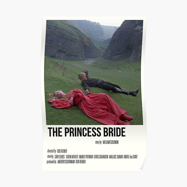 'the princess bride' film print Poster