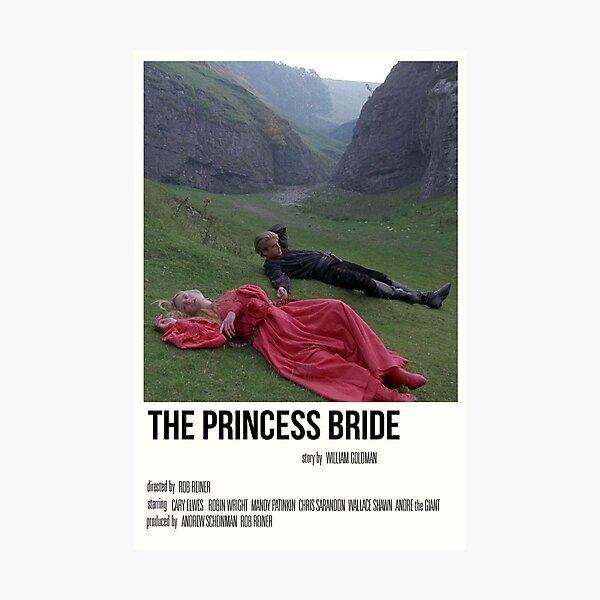 'the princess bride' film print Photographic Print
