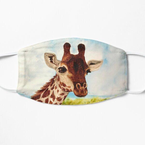 April the Sweet and Pretty Giraffe Flat Mask