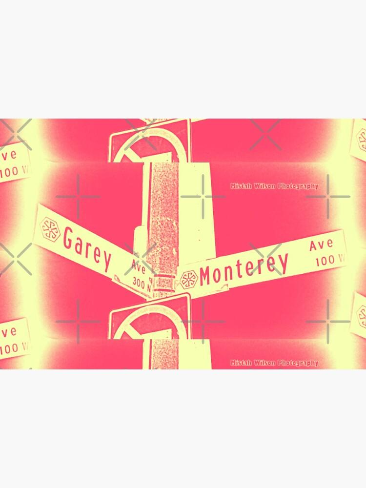 Garey Avenue & Monterey Avenue, Pomona, CA Cream Berry by Mistah Wilson by MistahWilson