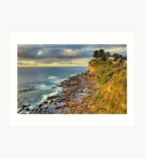 Location Location - Avalon Headland , Sydney - The HDR Experience Art Print