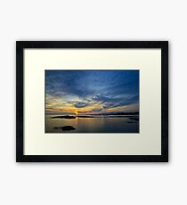 Sanna Bay Sunset Framed Print
