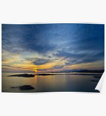 Sanna Bay Sunset Poster