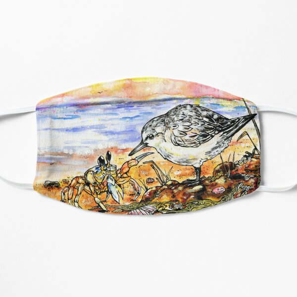 Sanderling and Ghost Crab Mask