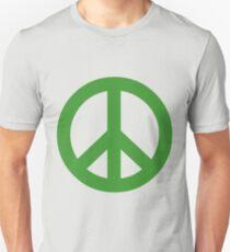 Peace - green. Unisex T-Shirt
