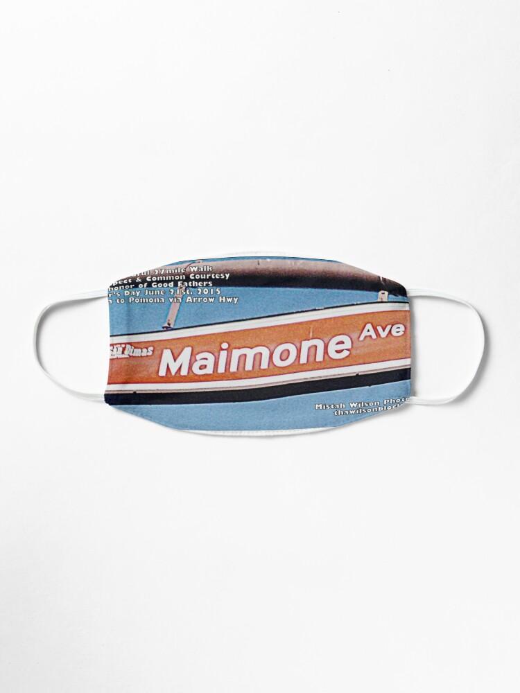 Alternate view of Maimone Avenue, San Dimas, CA by Mistah Wilson Mask