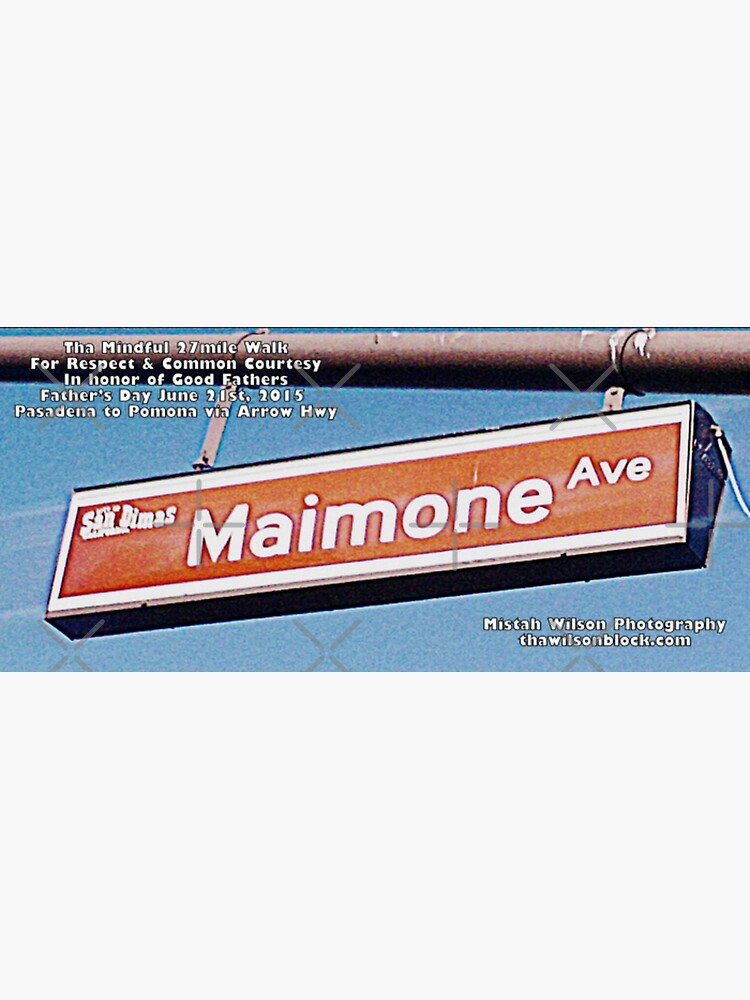 Maimone Avenue, San Dimas, CA by Mistah Wilson by MistahWilson