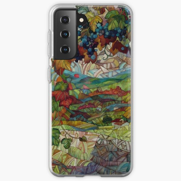 the vineyard Samsung Galaxy Soft Case