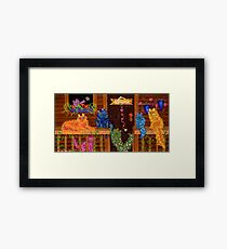Our Place ~ welcome home! Framed Print
