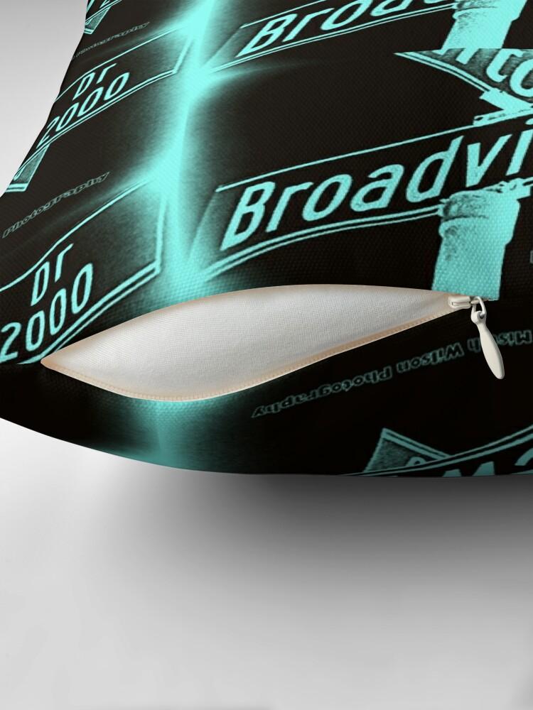 Alternate view of Broadview Drive, Glendale, CA by Mistah Wilson Floor Pillow