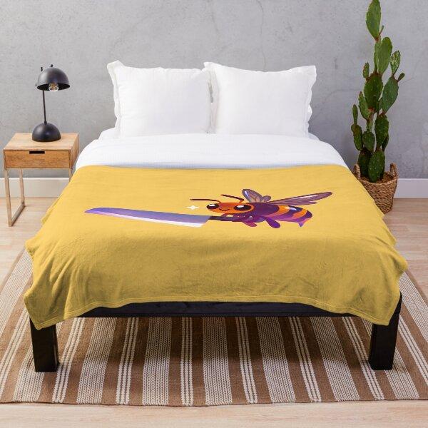 Asian giant hornet  Throw Blanket