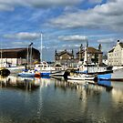Glasson Dock. by Lilian Marshall
