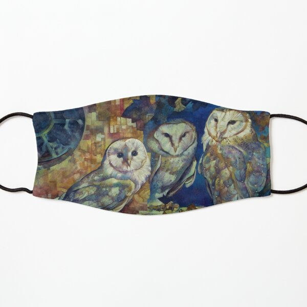 barn owls Kids Mask