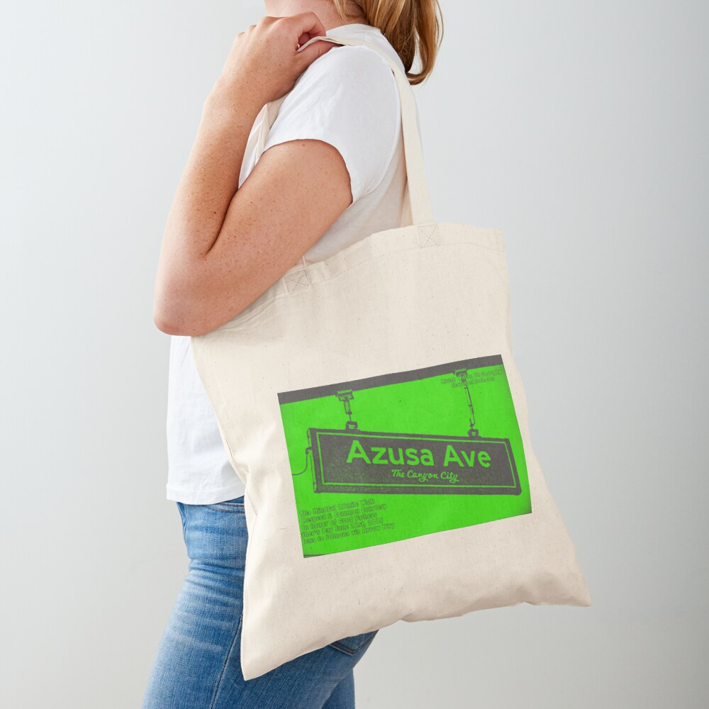 Azusa Avenue, Azusa, CA by Mistah Wilson Tote Bag